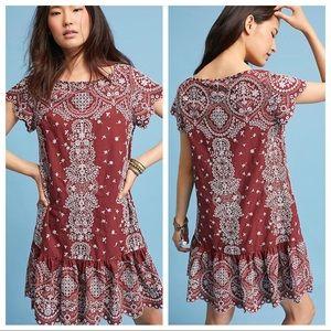 Anthropologie Ynez Tunic Dress by Feather Bone